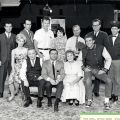 "Cast photograph, ""Come Back, Little Sheba,"" March 16, 1965. Nick and Faye Mayo Valley Music Theatre, Inc. Collection."