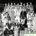 "Cast Photograph, ""Camelot,"" July 6, 1965. Nick and Faye Mayo Valley Music Theatre, Inc. Collection."