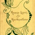 Cover of Magnolia Leaves by Mary Weston Fordham
