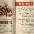 "My Buddies section, ""My Life in the Service,"" Lee W. Mayo diary"