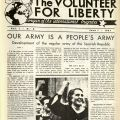 Our Army is a People's Army in The Volunteer for Liberty