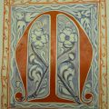 Initial on the first Page of the Antiphonary