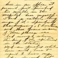 Second page of Flanders' letter to Mrs. Jason Coppernoll, February 26, 1919