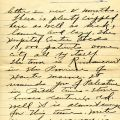 Fifth page of Flanders' letter to Mrs. Jason Coppernoll, February 26, 1919