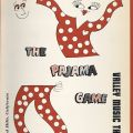 "Program cover, ""The Pajama Game,"" June 1965. Nick and Faye Mayo Valley Music Theatre, Inc. Collection."