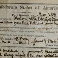 Confederate pass, May 25, 1863