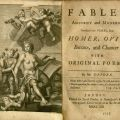 Title page, John Dryden, Fables Ancient and Modern...PR3418 .F3 1713