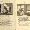 Old Mother Hubbard and Her Dog, in Chapbooks: A Collection, 1700z