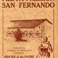 Program, Fiesta de la Mission San Fernando, 1931