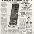 Clifton 'Food Poison' Probe Believed Recall Motive, in Progressive Digest, April 4, 1938.