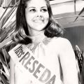 Contestant at the Miss Reseda Beauty Pageant, 1981