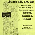 Flyer for the Fun Faire, 1982