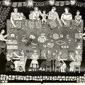 """""""Loteria: Tabla Llena"""" by Carmen Lomas Garza taken from El Calendario Chicano 1975. Rodolfo F. Acuña Collection"""