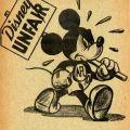 Cartoonists 1941 Strike Flyer at Disney Studios