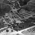 Aerial view of Adohr Farms at the 18000 Ventura Boulevard, Reseda location, ca. 1937