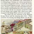 Page from the book Shanghai Times by Renée Azevedo Logan, includes a drawing of the Bridge House on Szechwan Road, local Japanese gendarmerie building. DS796.S24 L64 1998
