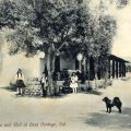 Old Adobe and Well at Casa Verdugo, Burbank, California, Circa 1910-1917. California Tourism and Promotional Literature Collection.