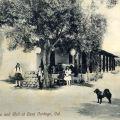 Old Adobe and Well at Casa Verdugo, Burbank, California, circa 1910-1917