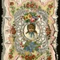 Front of hand-decorated valentine