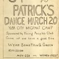 Voice of the Migrant, Marysville Migratory Labor Camp, February 2, 1940