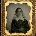 Portrait of woman wearing a veil