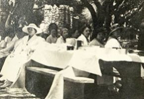 Club picnic at Sunland Park, June 18, 1920. Reseda Woman's Club Collection