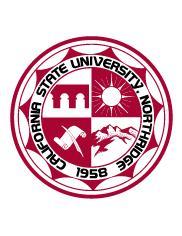 California State University, Northridge Official Seal