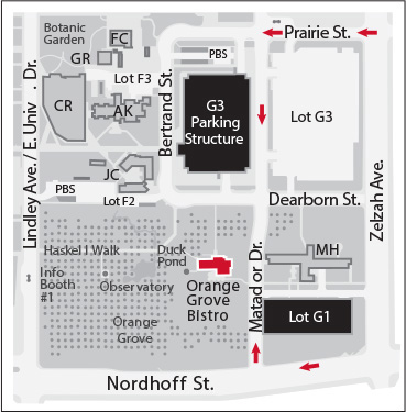 Map Directions to the SFV Nonfiction Award Reception