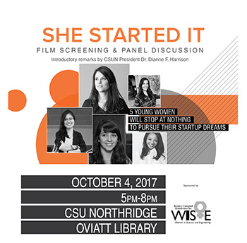 """She Started It"" Poster"