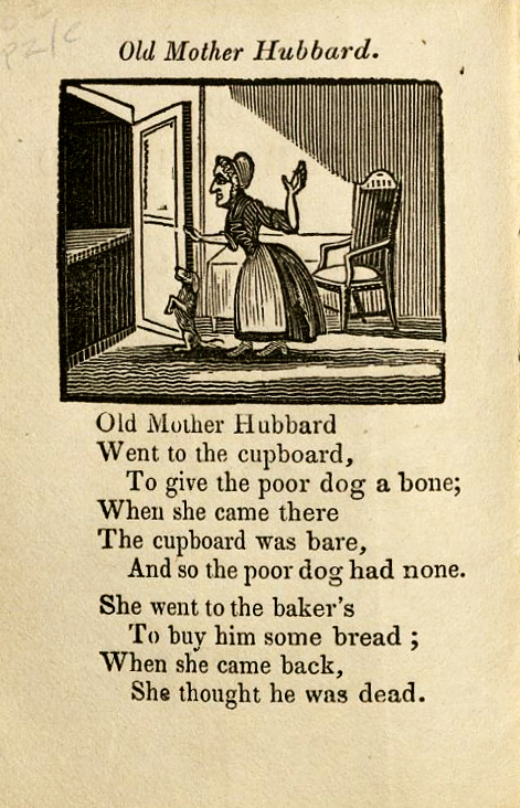 Old Mother Hubbard Print