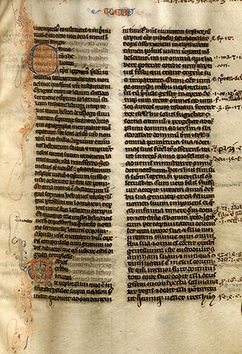 First page of the Book of Tobit