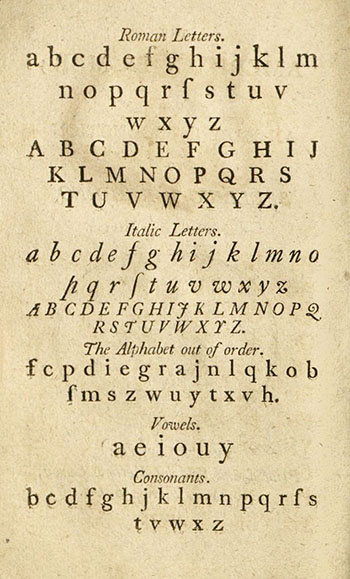 19th Century Primers | Oviatt Library