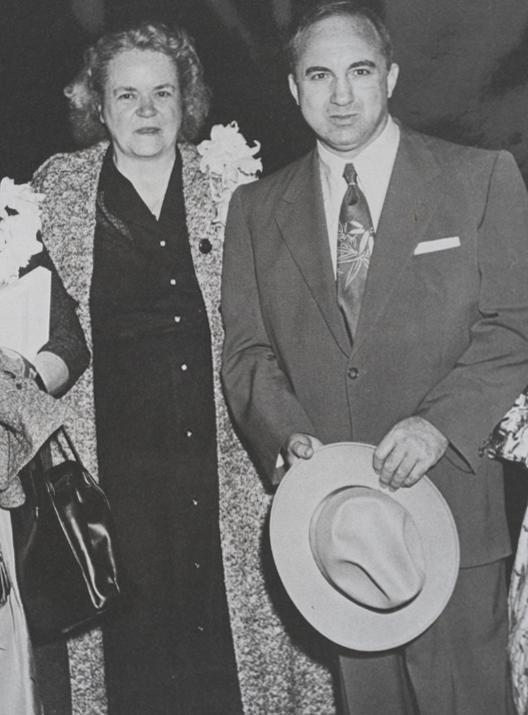 Agness Underwood and Mickey Cohen