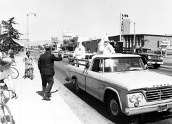 Ku Klux Klan Parade,  Panorama City, California, September 15, 1966