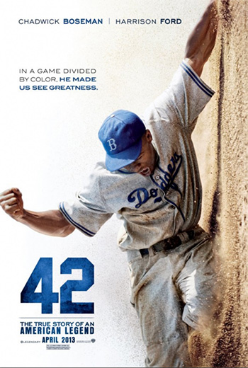 Movie Poster for the film 42.