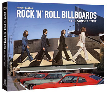 Book cover for Rock n Roll Billboards of the Sunset Strip