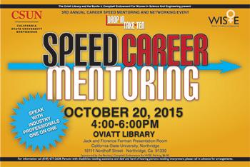 Drop In Take Ten - Speed Career Mentoring Postcard Thumbnail