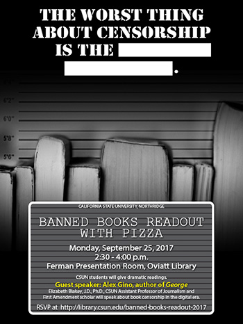 Thumbnail of Event Poster - Banned Books Readout 2017