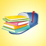 books in a mailbox