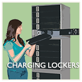 Secure Charging Lockers