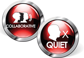 Collaborative and Quiet
