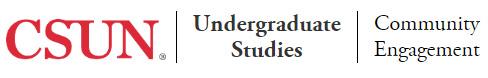 csun, undergraduate studies, community engagement