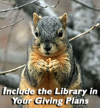 Include the Library in Your Giving Plans
