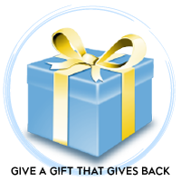 Give the Book that Gives Back. Give to the Library