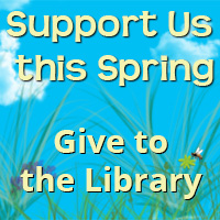 support us this spring, give to the library