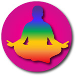 Figure meditating