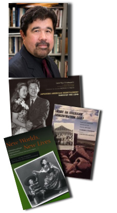 Lane Ryo Hirabayashi and books