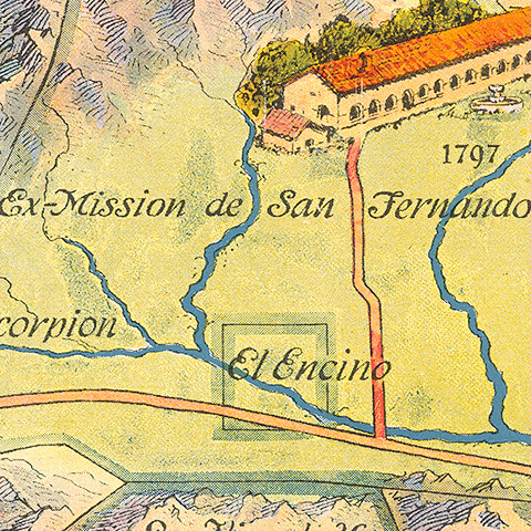 Map Collection San Fernando Valley
