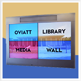 Oviatt Library Media Wall