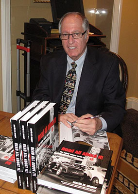 Author Martin M. Cooper at book signing